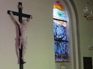 Gentofte Kirke Kristus og Per Kirkebys Syndfloden