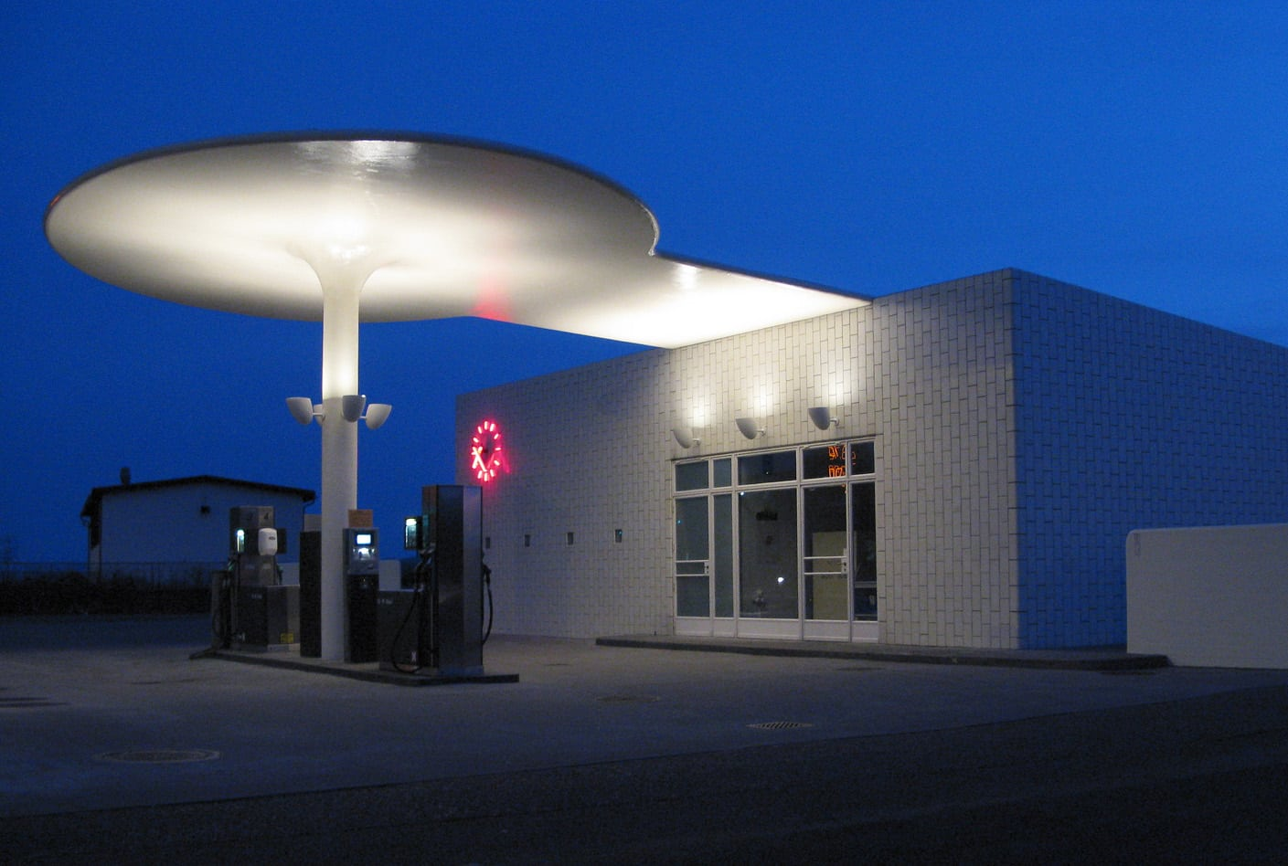 Arne Jacobsens Benzintank