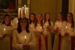 Luciakoncert med Pigekoret