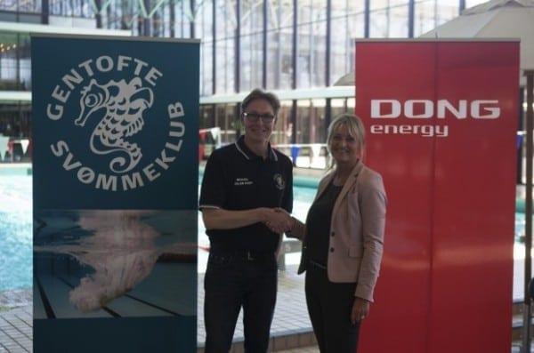 Pressemeddelelse: Gentofte Svømmeklub og DONG Energy indgår samarbejde