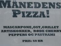 Ny Pizza + Månedens Pizza i Itzi