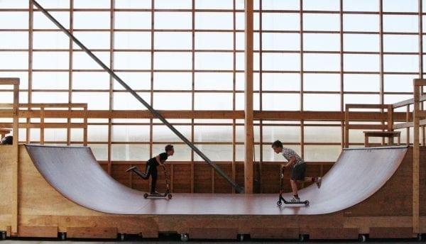 Jägers Skatepark og hal