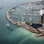 Udvidelsen af Skovshoved Havn nærmer sig sin afslutning