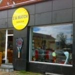 Z og Match holder Tennis-Gadesalg