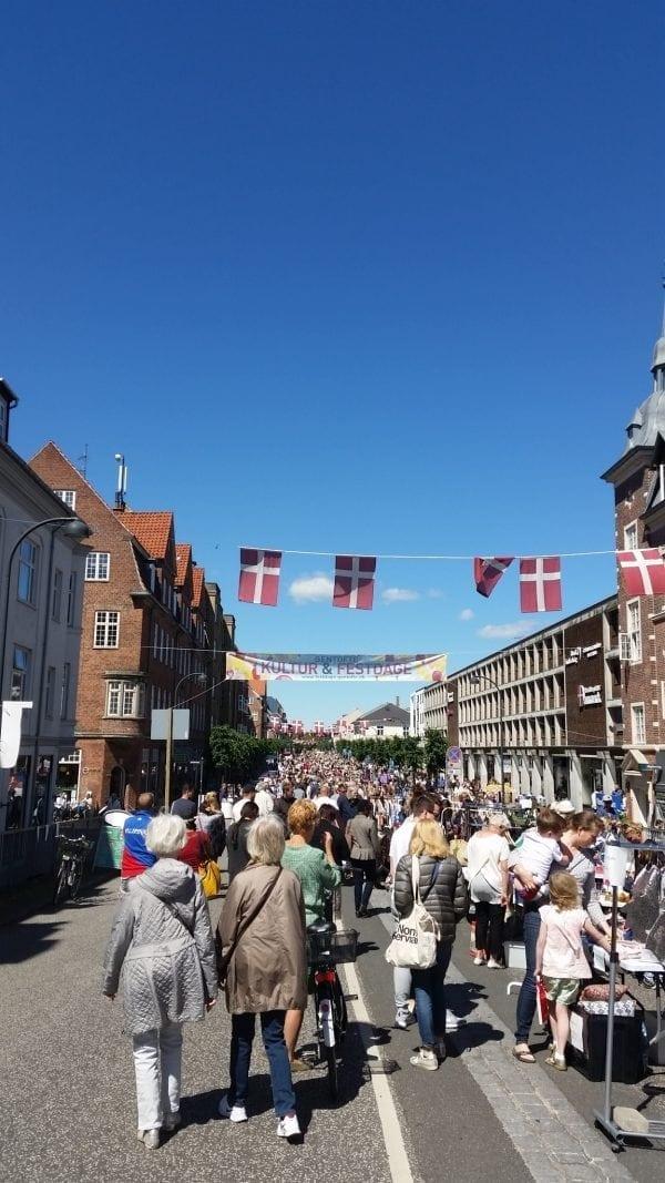 Billeder fra Kultur og Festdage på Gentoftegade og Jægersborg Alle