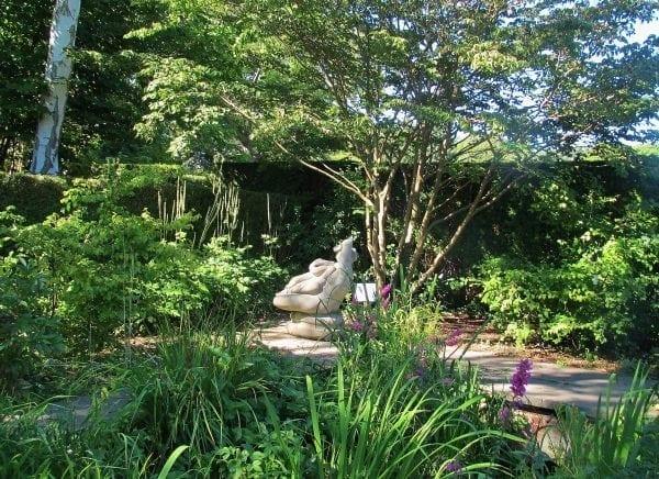 Besøg i Brandts have