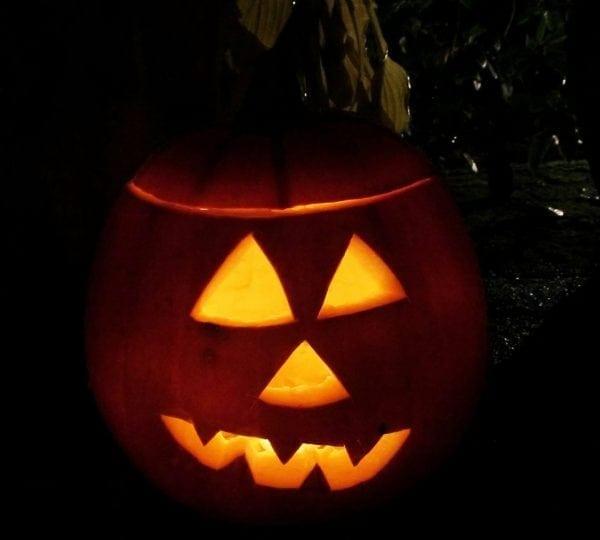 Halloween på Garderhøjfortet