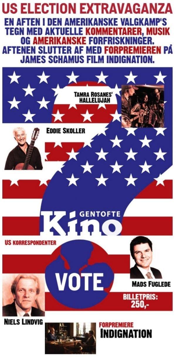 Præsidentvalg i Gentofte Kino