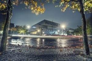 Experimentarium i efterårsklæder. Foto: David Trood