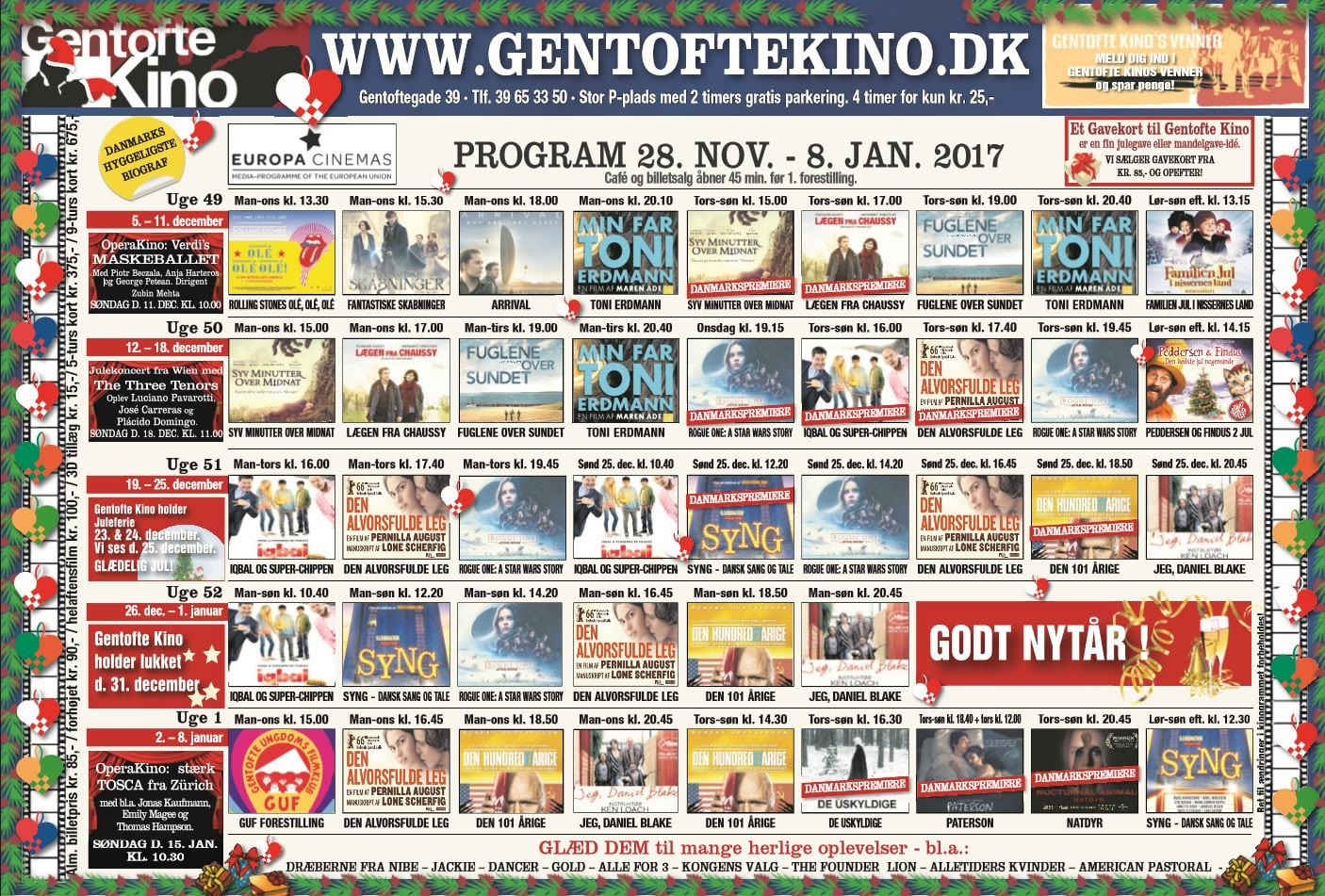 Gentofte Kino viser! - Dit Gentofte
