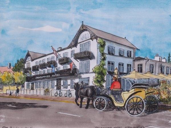 Akvarel af Per Bülow
