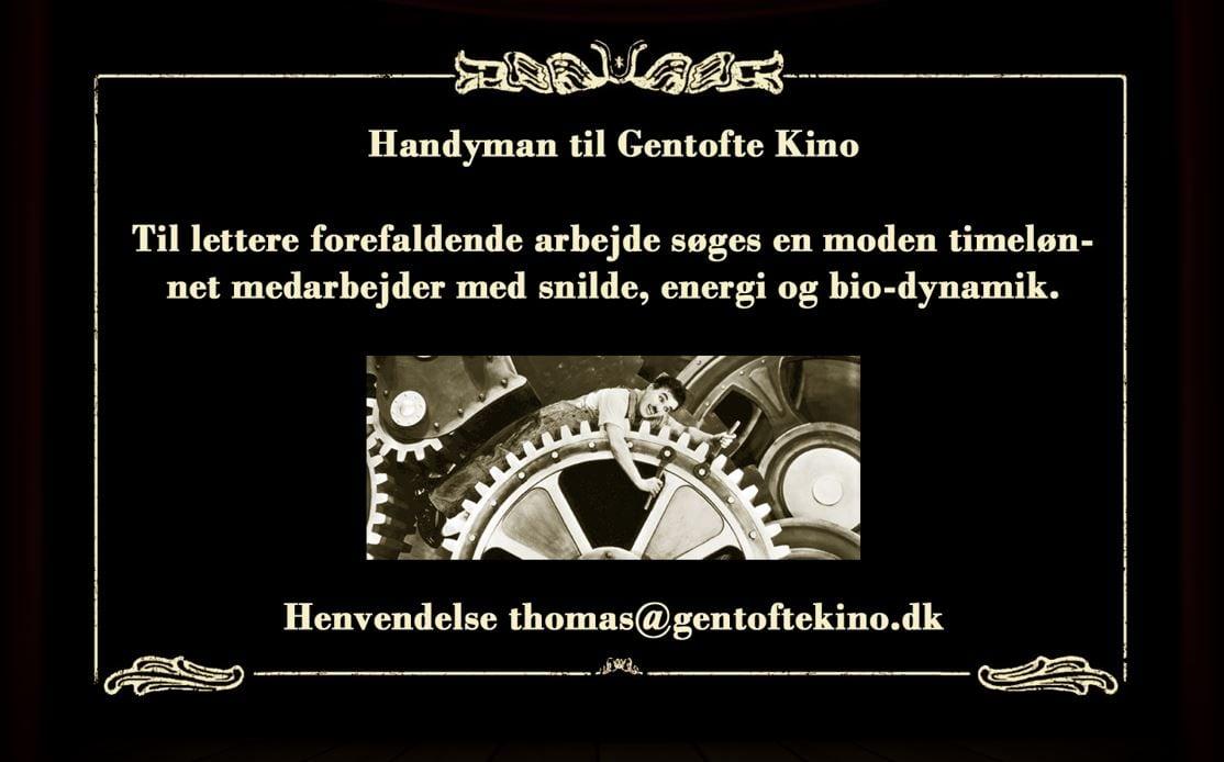 Gentofte Kino søger - Dit Gentofte