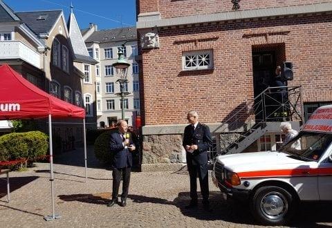 Jubilæumsdag hos Gentofte BrandMuseum