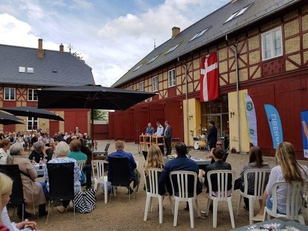 Blåt Grundlovsmøde på Bernstorff Slot