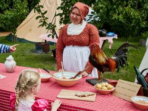 Historisk sommer: Spis dig gennem historien