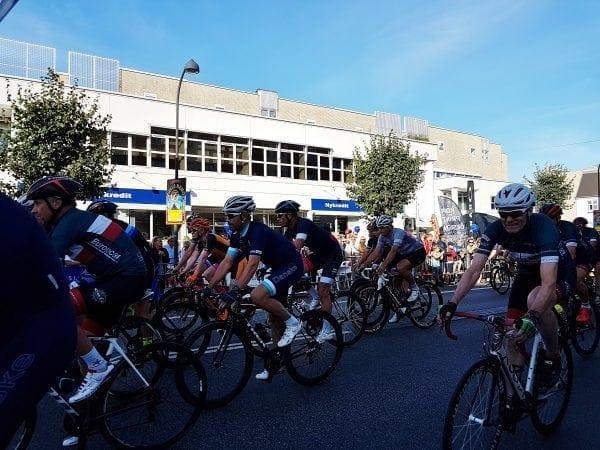 Vinderen af Tour de Charlottenlund blev: Danmarksmesteren Mads Pedersen