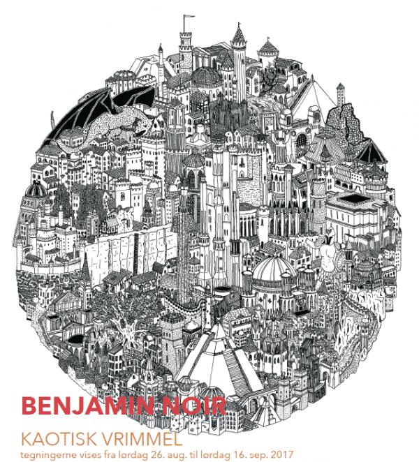 Salon med Benjamin Noir