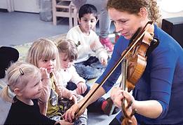 Klassiske koncerter i børnehøjde