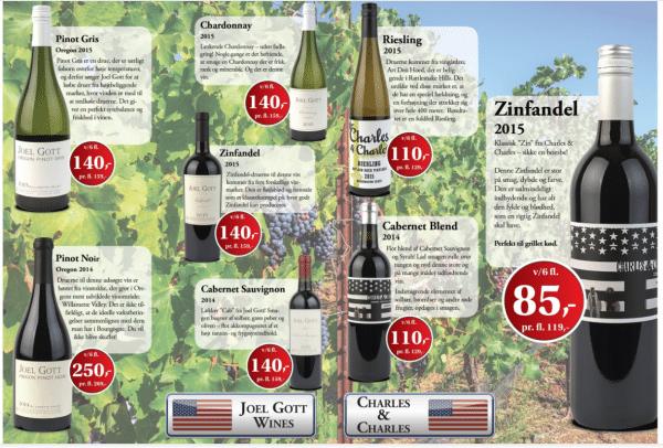 Drik vin fra USA