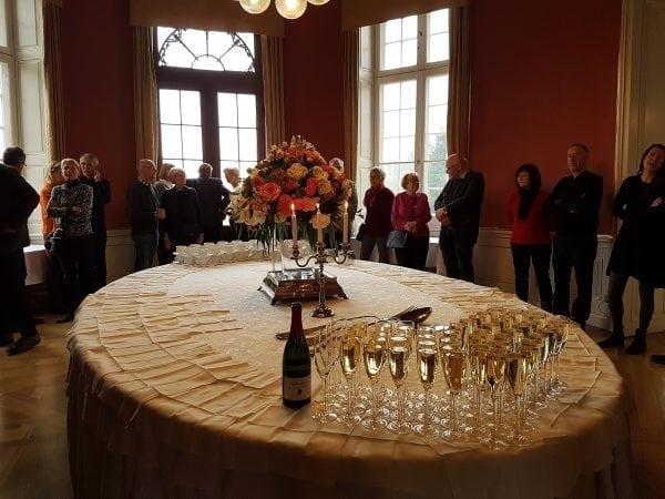 Nytårskur på Bernstorff Slot med Bernstorff-Jægersborg Grundejerforening.