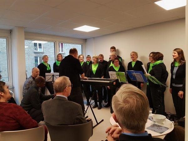 Indvielse af nyt forbedret FOF Hus på Ordrupvej