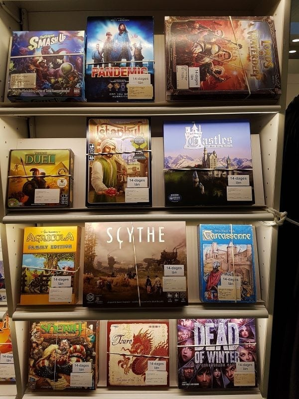 Lån spil på Gentofte Hovedbibliotek