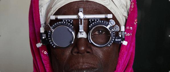 Briller i bidder og briller til Afrika