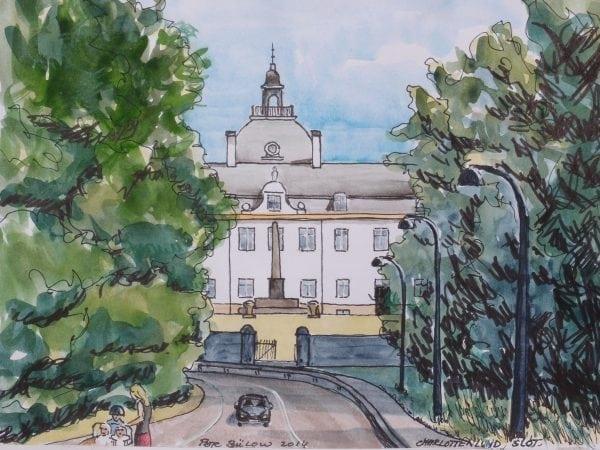 Endnu en offentlig høring om Charlottenlund Slot i 2018.