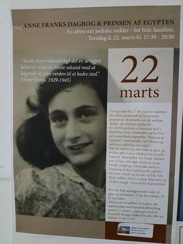 Jødernes store historier i Jægersborg Kirke