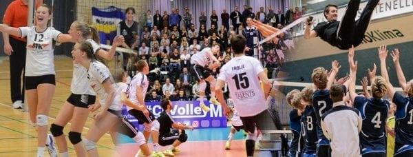 Gentofte Volley har spillet sig i DM semifinalen