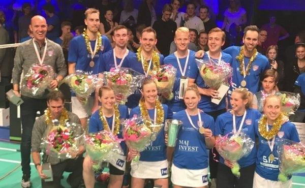 Triumf - SIF vinder DM i Badminton