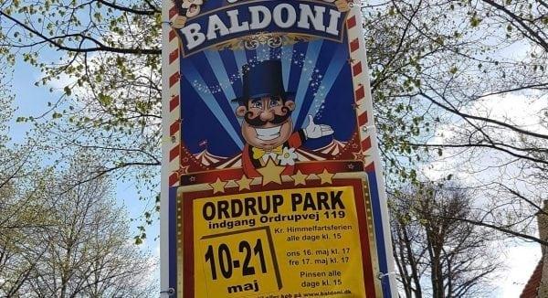 Cirkus Baldoni i Ordrup Park