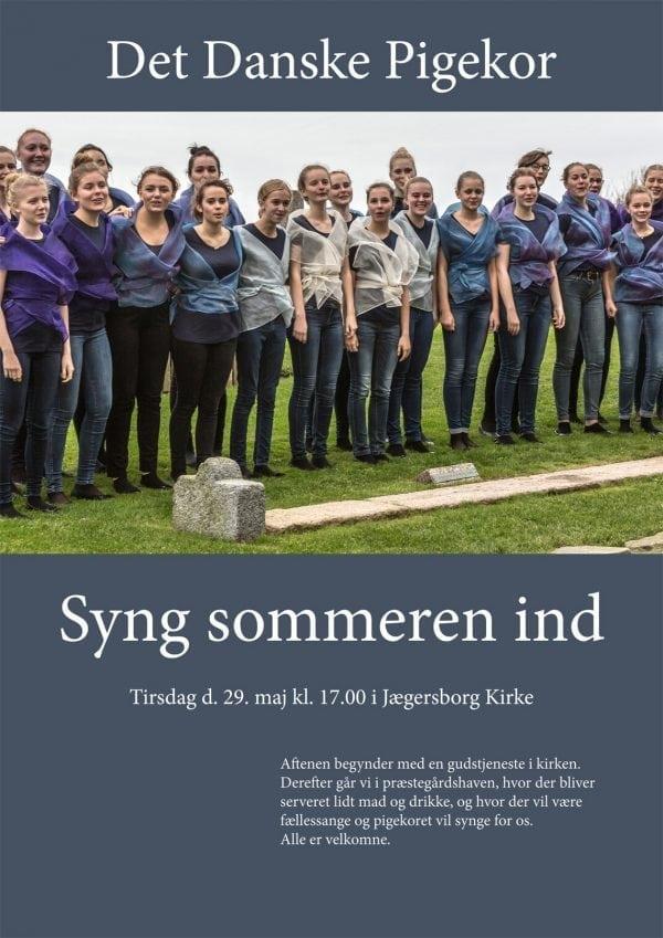 Syng sommeren ind med Det Danske Pigekor