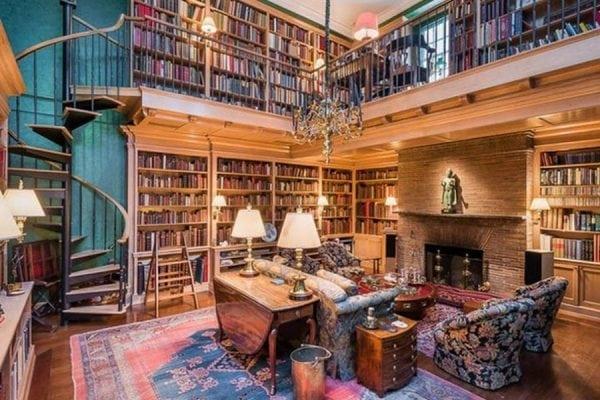 Hemmelige og fantastiske biblioteker i litteraturens verden