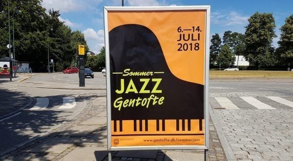 Sommerjazz 2018 på Bernstorff Slot