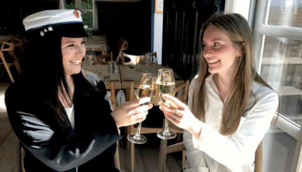 Fejr` huen på Skovshoved Hotel