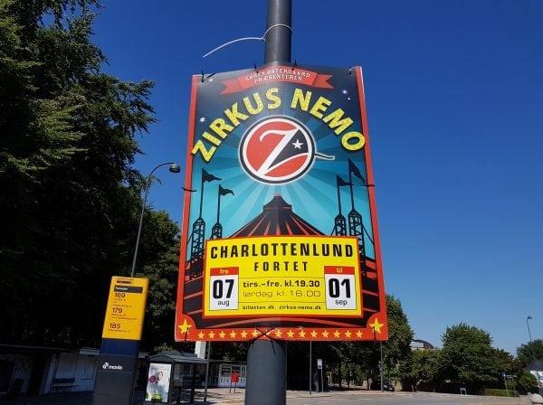 Zirkus Nemo kommer til Charlottenlund