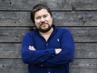 Rasmus Bjerg, Gentofte kulturprisen, foto: Gentofte kommune
