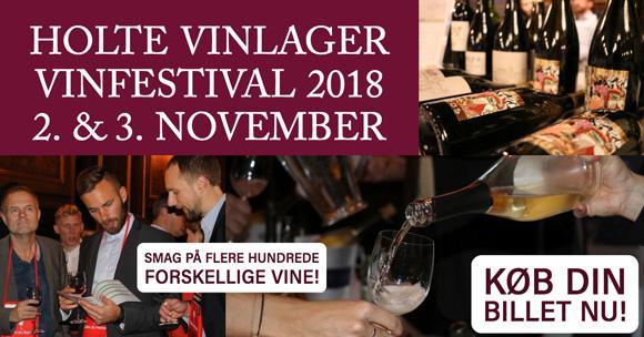 Holte Vinlager holder årets vinfestival på Børsen