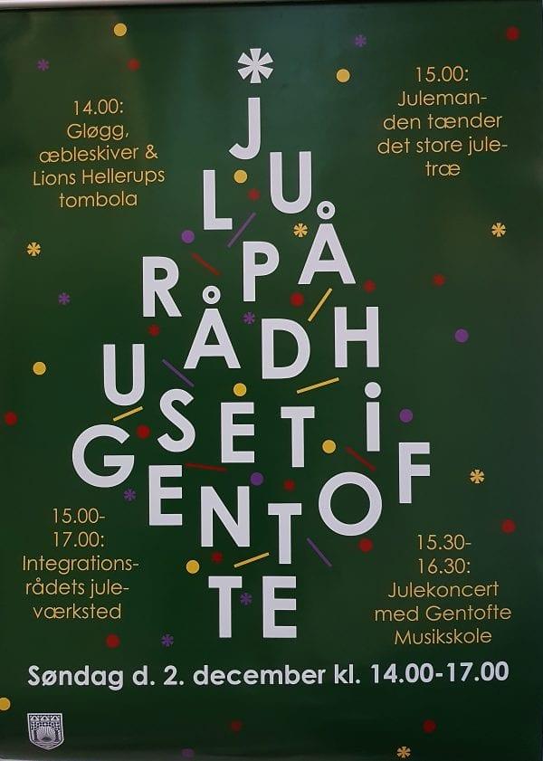 Jul på Gentofte Rådhus