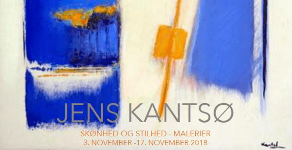 Salon med maleren Jens Kantsø