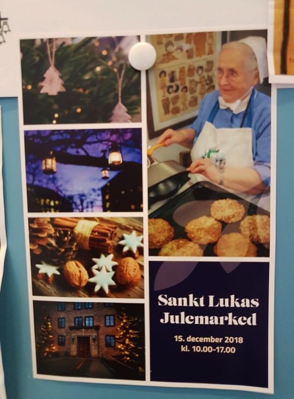 Julemarked på Sankt Lukas Stiftelsen