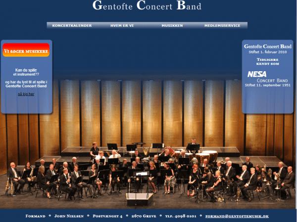 Nytårskoncert 2019 med Gentofte Concert Band