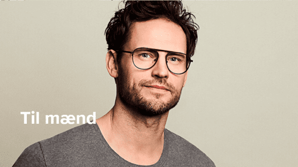 Belastende i hverdagssituationer - betryggende når du skal have briller