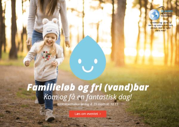Familieløb og fri (vand)bar