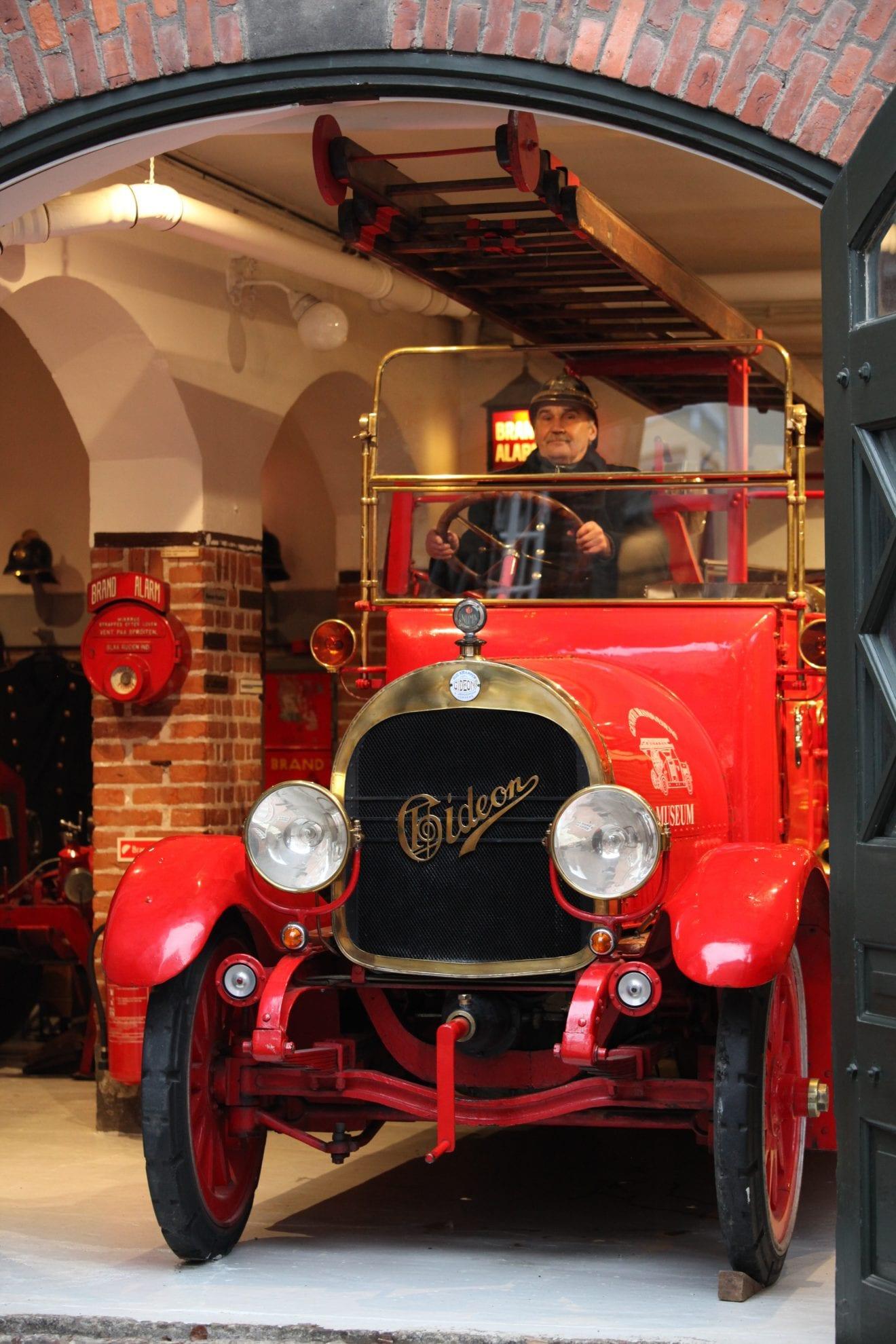 Den ældste danske brandautomobil