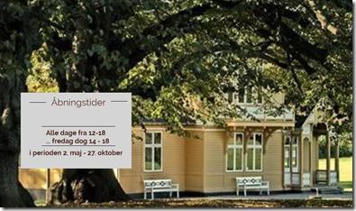 Med forårets komme åbner Svenske Villa i Bernstorff Parken