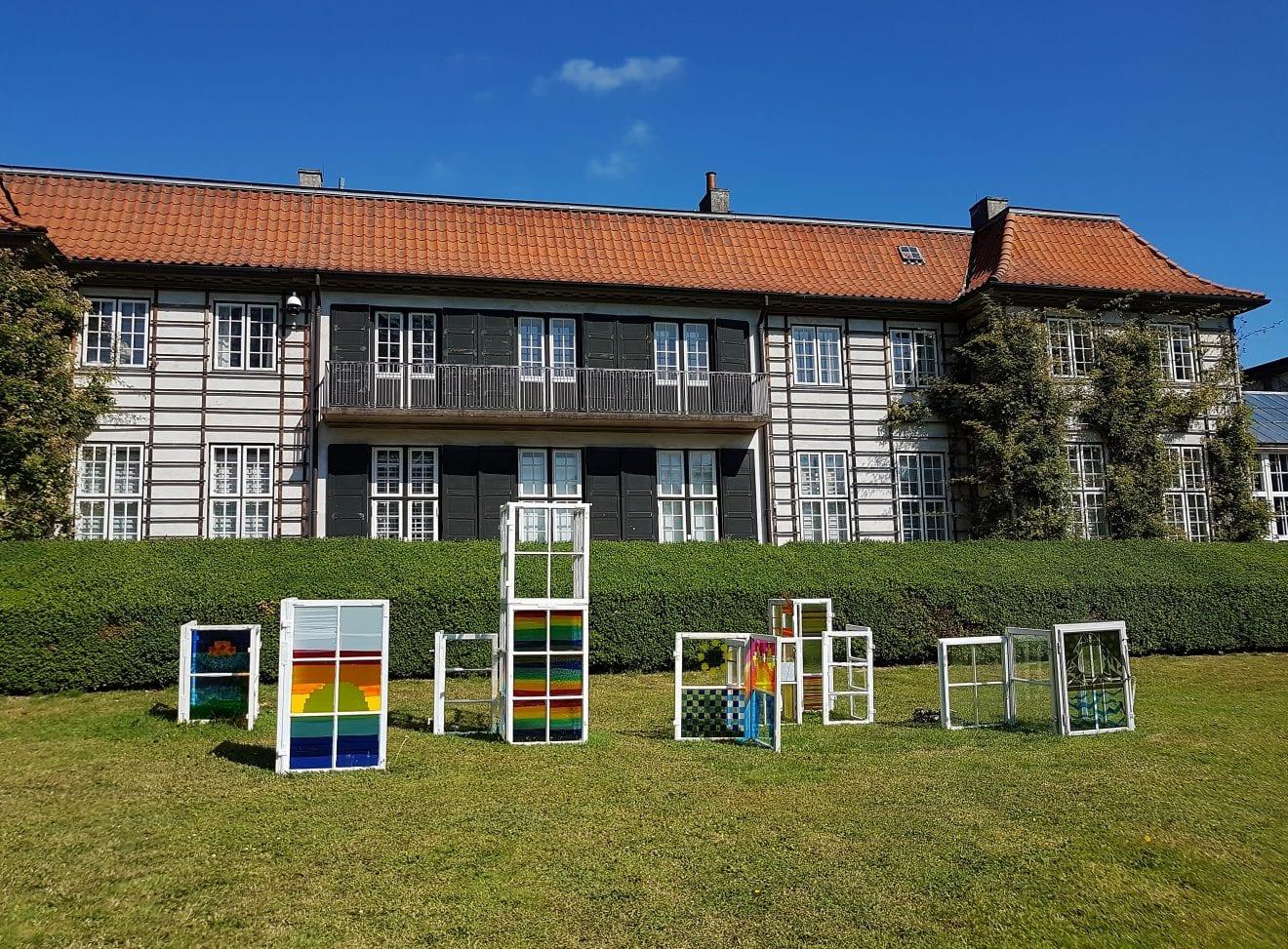 Billedreportage fra Lysworkshop i Ordrupgårdparken