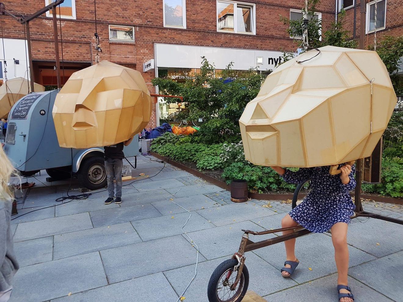 Stemningsbilleder fra Gadeteaterfestival på Gentoftegade