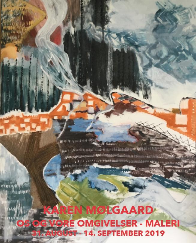 Fernisering på efterårets første udstilling i Helleruplund